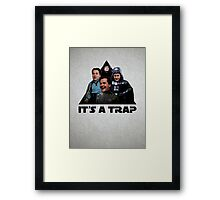 ConDem Wars - It's a Trap Framed Print