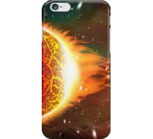 Space background iPhone Case/Skin