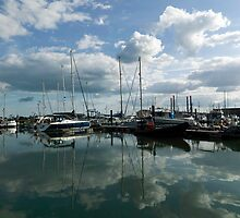 Harbour Reflections by John Gaffen