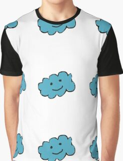 The clouds are happy when it's raining. Graphic T-Shirt