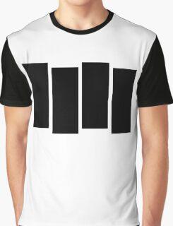 Black F Graphic T-Shirt