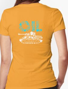OIL  Womens Fitted T-Shirt