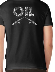 OIL KK Mens V-Neck T-Shirt