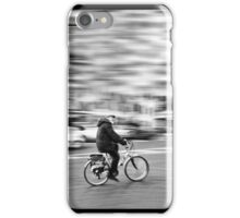 Aged Cyclist iPhone Case/Skin