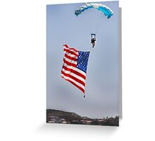 Waving the Flag Greeting Card