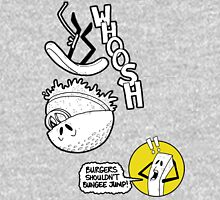 Burgers Shouldn't Bungee Jump! Unisex T-Shirt