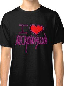 Necronomicon  fictional grimoire  horror writer H. P. Lovecraft  Classic T-Shirt