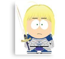 Saber South Park Canvas Print