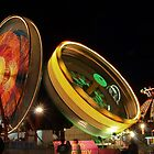 Amusement Rides at the County Fair by Joe Saladino