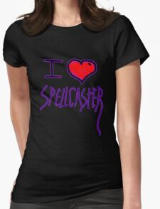 i love spell caster witch of halloween   T-Shirt
