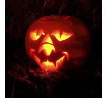 Halloween Pumpkin Photographic Print