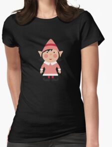 pink elf Womens Fitted T-Shirt