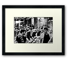 A Future Up In Smoke ? Framed Print