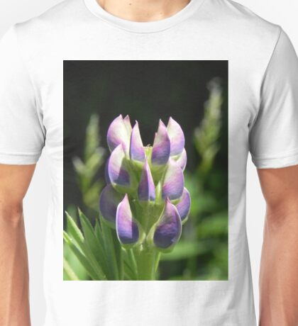 Purple Lupin Unisex T-Shirt