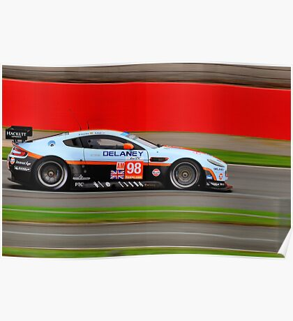 Aston Martin Racing No 98 Poster