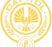 The Hunger Games Capitol Seal by pit820