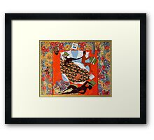 Comfort and Compromise Framed Print