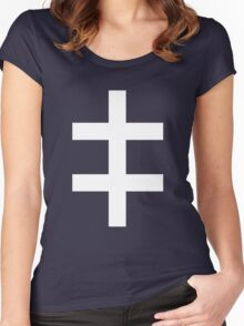 Celebritarian Corporation Women's Fitted Scoop T-Shirt
