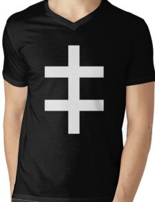 Celebritarian Corporation Mens V-Neck T-Shirt