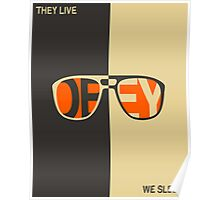 THEY LIVE, WE SLEEP Poster