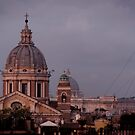 View From The Spanish Steps, Rome by Matthew Walters