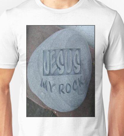 JesusMyRock Unisex T-Shirt