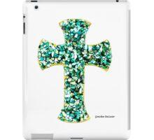 Custom Green Cross iPad Case/Skin