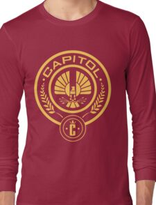 The Hunger Games Capitol Seal Long Sleeve T-Shirt