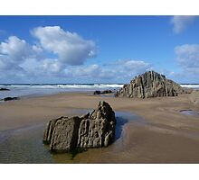 Beachscape - Devon Photographic Print