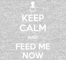 Keep calm and feed me now One Piece - Long Sleeve