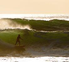 Sunset Surfer by Chris Klein