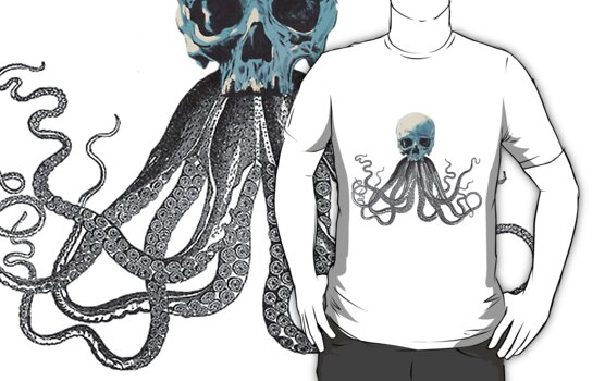 squid skull by kush-tee