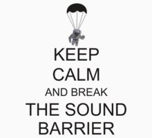 Keep Calm and Break the Sound Barrier by ScottW93