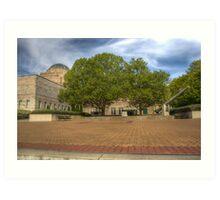 Australian War Memorial Canberra Australia  Art Print
