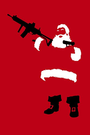 Bad Santa by Mark Walker