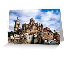 Old town Salamanca Greeting Card