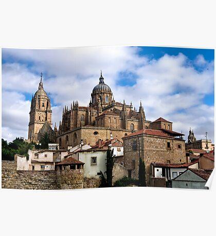 Old town Salamanca Poster