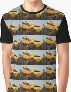 Venice, Italy - Fabulous Rooftops and Chimneys Graphic T-Shirt