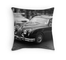 Mk II Jaguar Throw Pillow