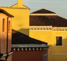Venice, Italy - Fabulous Rooftops and Chimneys Sticker
