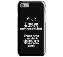Maths - Binary - Funny iPhone Case/Skin