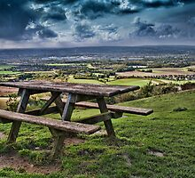 Bench With A View by Dave Godden