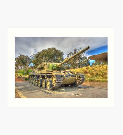 Tank Australian War Memorial Canberra Art Print