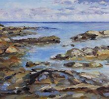 Early November Sea by TerrillWelch
