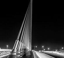 The Bridge at Night - 2 by Simon  Goyne