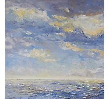 Sea and Clouds  Photographic Print