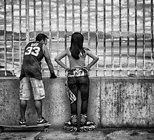 Skates and Board by Simon  Goyne