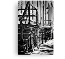 Amsterdam: The Bike Canvas Print
