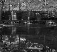 Nidd Falls - Mono by WatscapePhoto