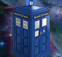 Doctor Who TARDIS by StudioMarimo